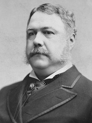 Chester A. Arthur - 21st President