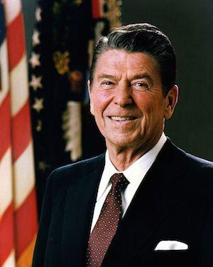 Ronald Reagan  - 40th President