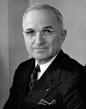 Harry S. Truman - 33rd President