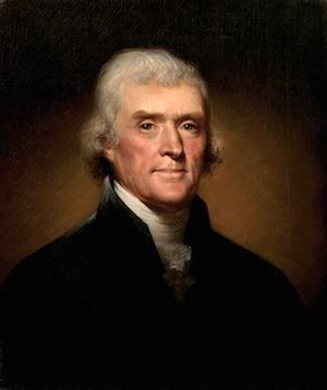 Thomas Jefferson - 3rd President