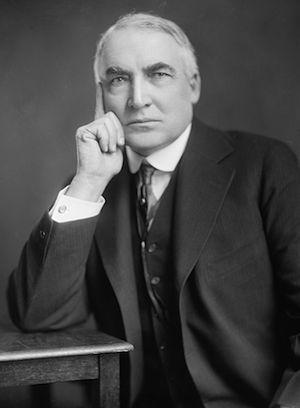 Warren G. Harding - 29th President