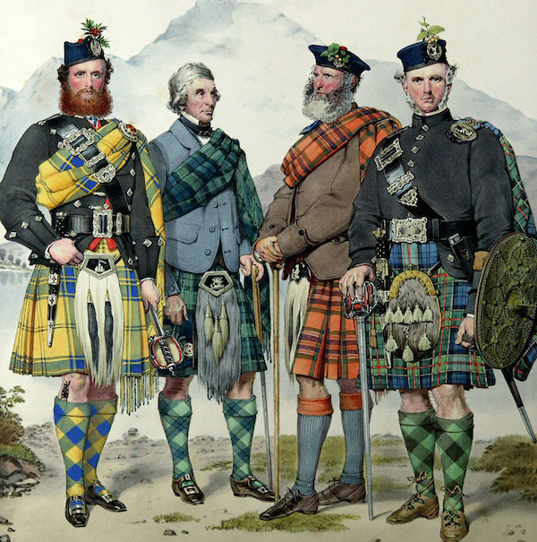 In an attempt to quash potential threat from the clans of Scotland, the Dress Act 1746 was enforced by the English, making all Highland clan attire illegal. 35 years later, the ban was lifted, and Highland garb went through something of a resurgence.