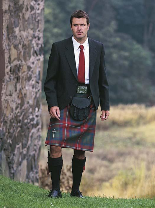 A smart kilt and day kilt jacket from Kinloch Anderson