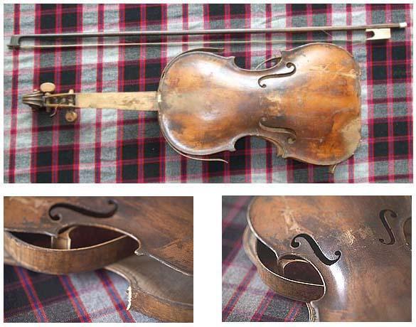 James MacPherson's Broken Fiddle