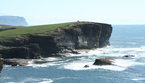 Yesnaby Cliffs - a place of beauty and great inspiration.