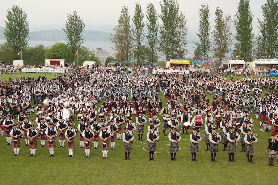 The 59th Gourock Highland Games will take place on 10 May